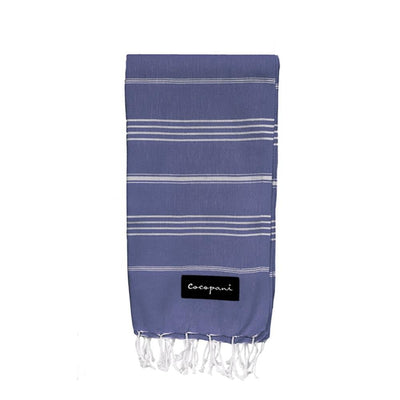 EMILY Navy Beach Towel