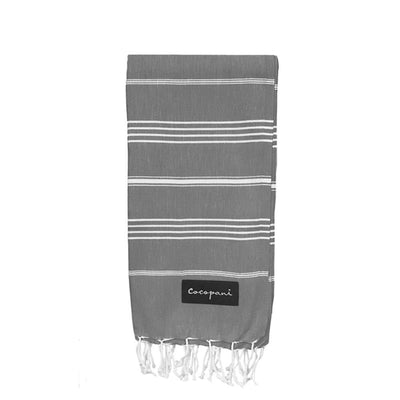 STELLA Grey Beach Towel