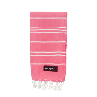 AMANDA Pink Beach Towel