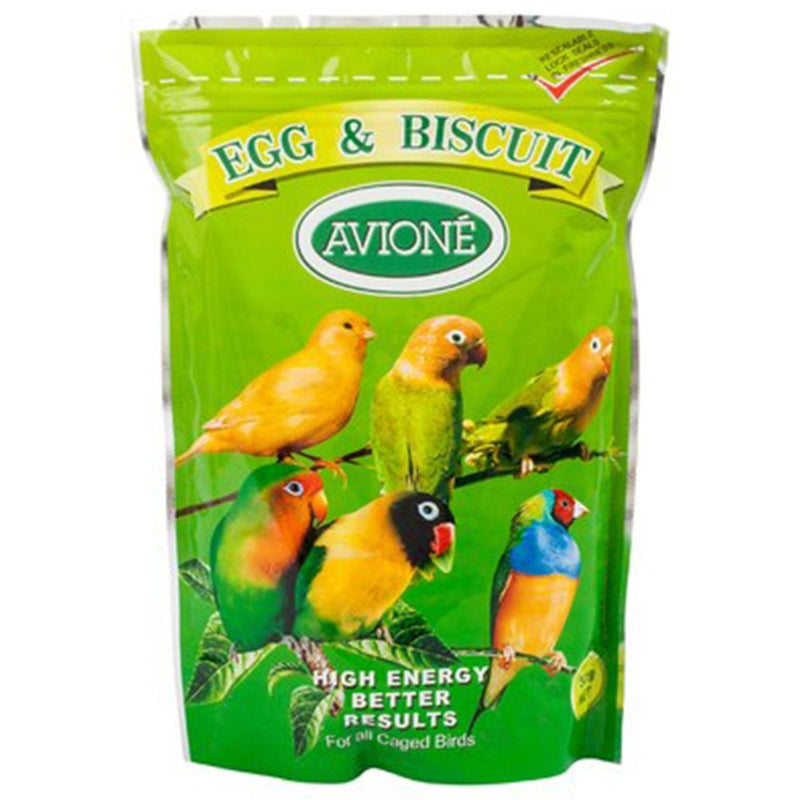 Avione Egg and Biscuit Formula for Caged Birds 500g