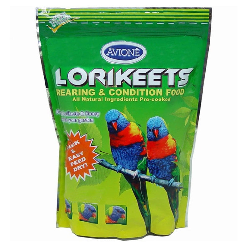 Avione Lorikeets Rearing and Conditioning Dry Food 500g