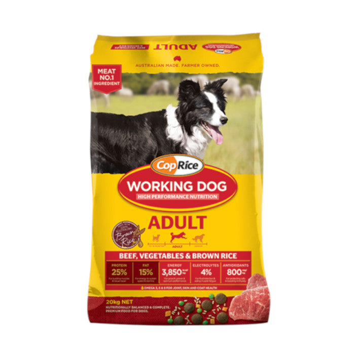 CopRice Working Dog Adult Beef