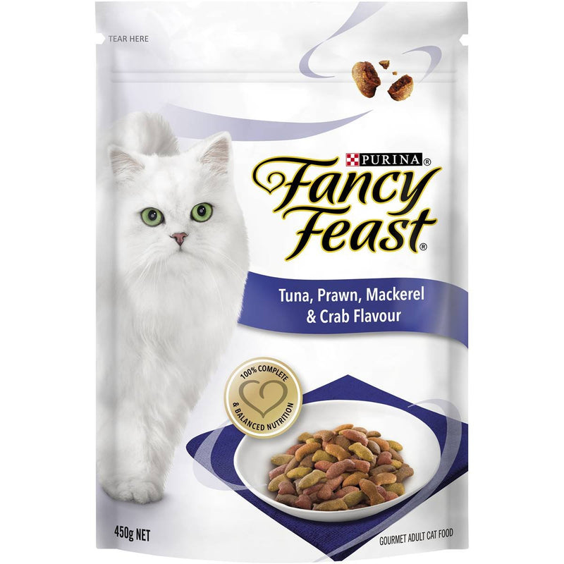Fancy Feast Tuna, Prawn, Mackerel & Crab 450g