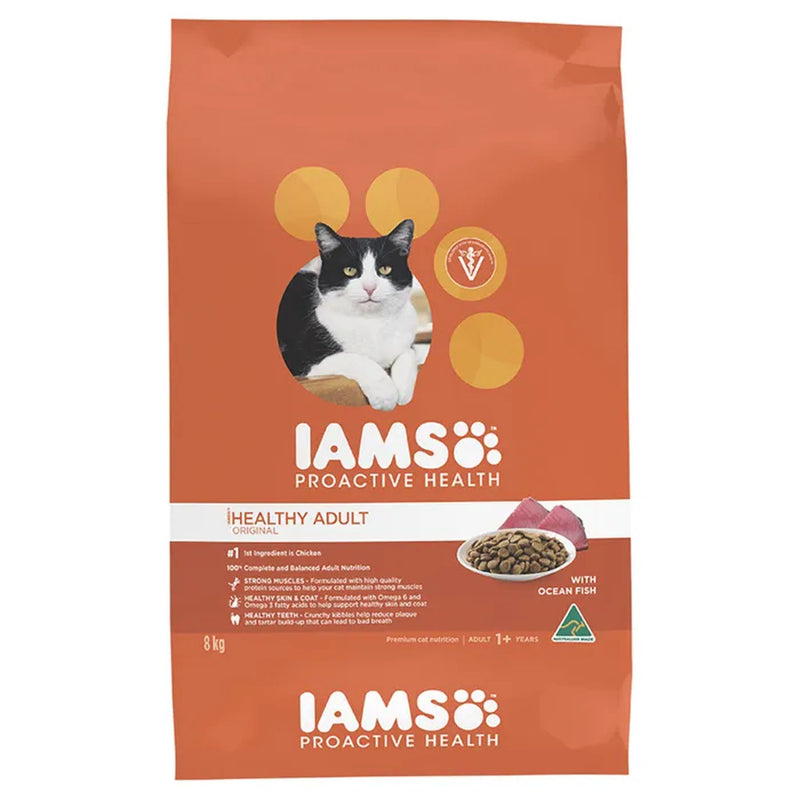 Iams Wild Ocean Fish & Chicken Dry Cat Food 8kg