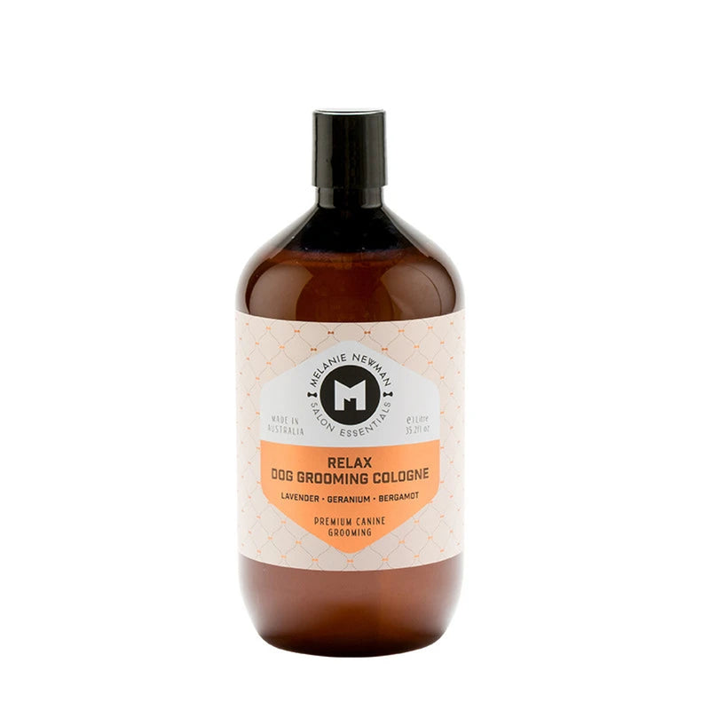 Melanie Newman Relax Dog Grooming Cologne - 1-Litre