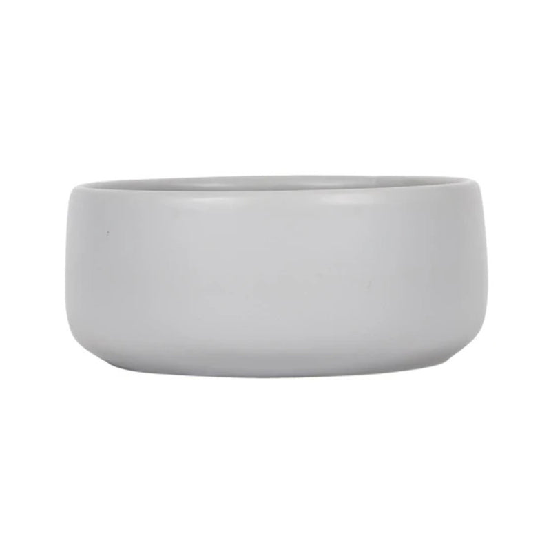 Mog & Bone Ceramic Dog Bowl Cool Grey 800ml