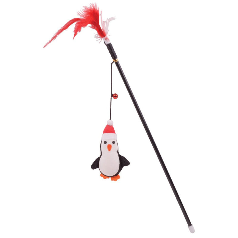 Ourpets Holiday Snag-Ables Jolly Pal Penguin Wand