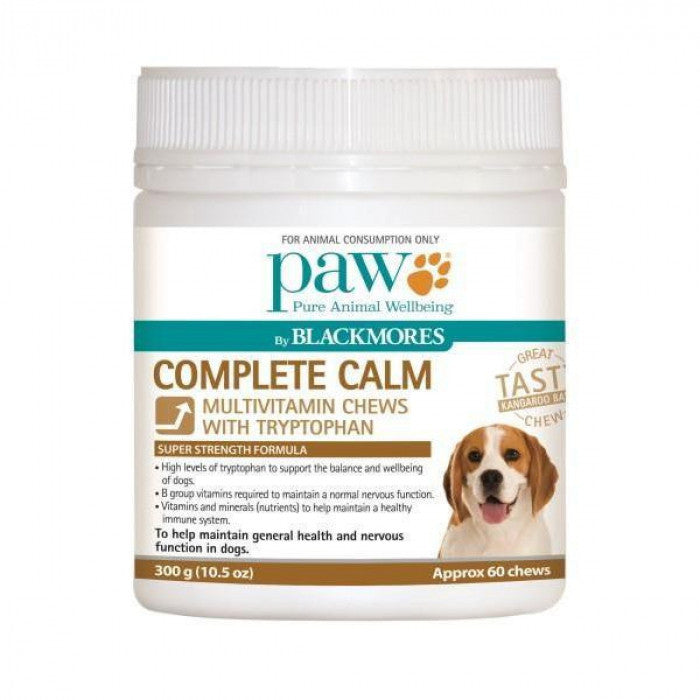 PAW Complete Calm Multivitamin Chews for Dogs 300g