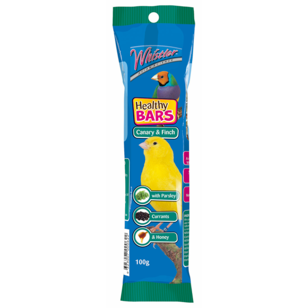 Whistler Canary Finch Healthy Bar 100g