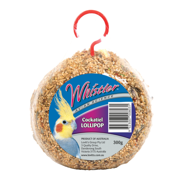 Whistler Cockatiel Lollipop 300g