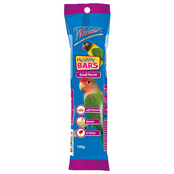 Whistler Small Parrot Healthy Bar 100g