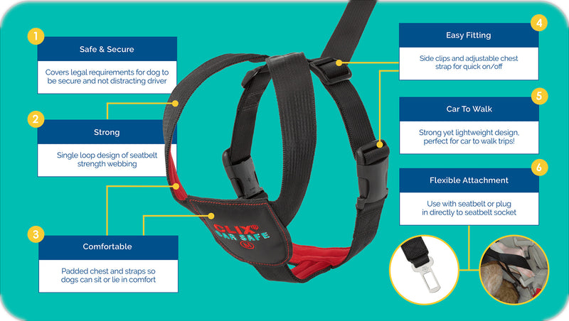 Clix CarSafe Harness - Features