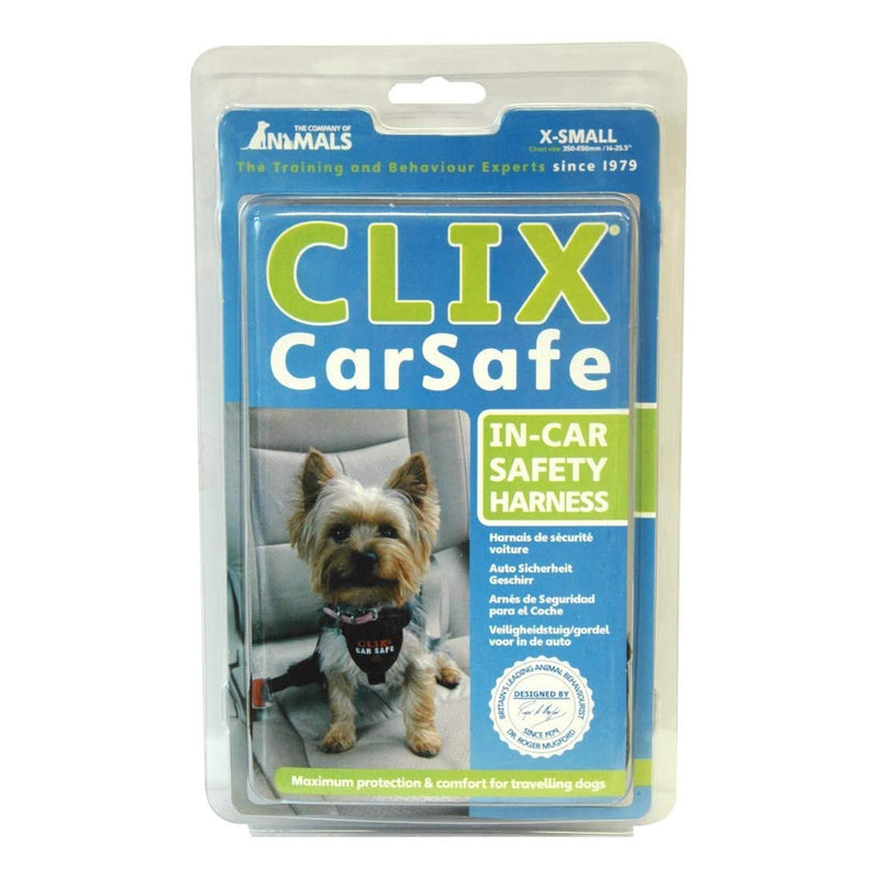 Clix CarSafe Harness X-Small - Dog Car Restraint