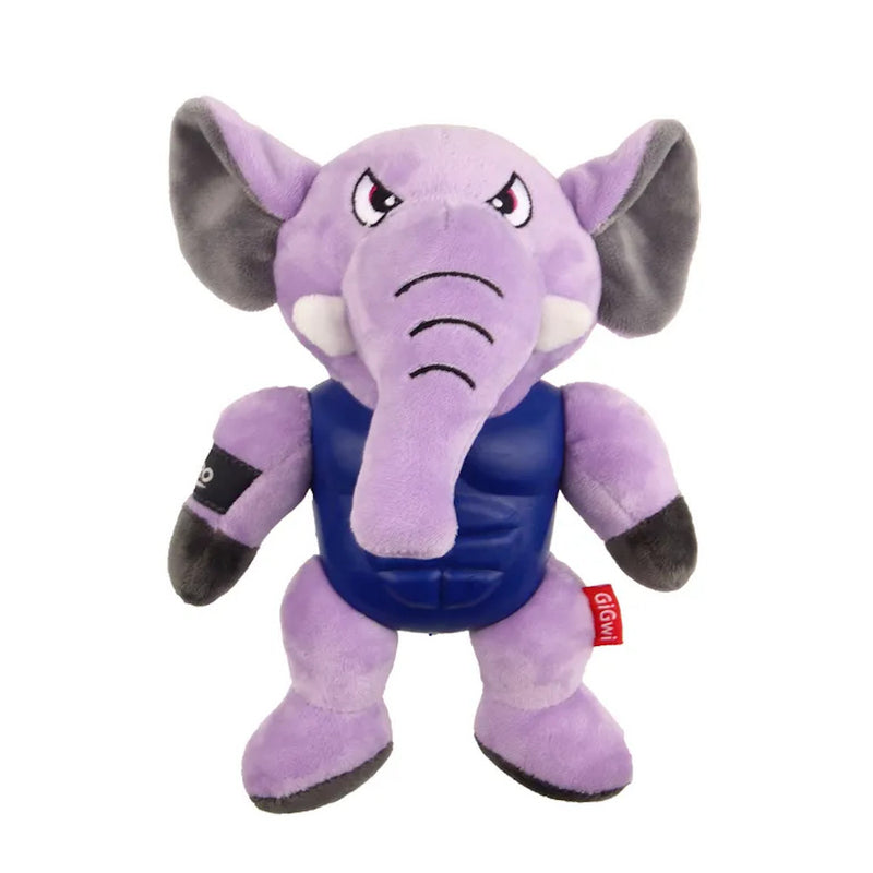Gigwi I'm Hero Armour Elephant Plush with Squeaker