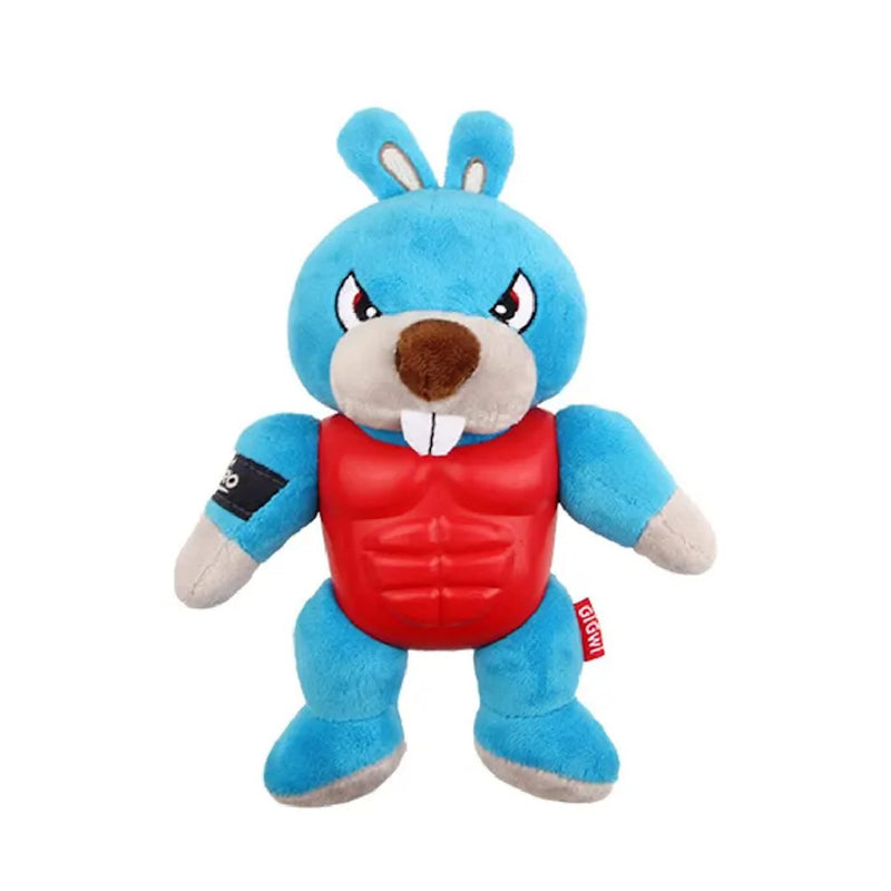 Gigwi I'm Hero Armour Rabbit Plush with Squeaker