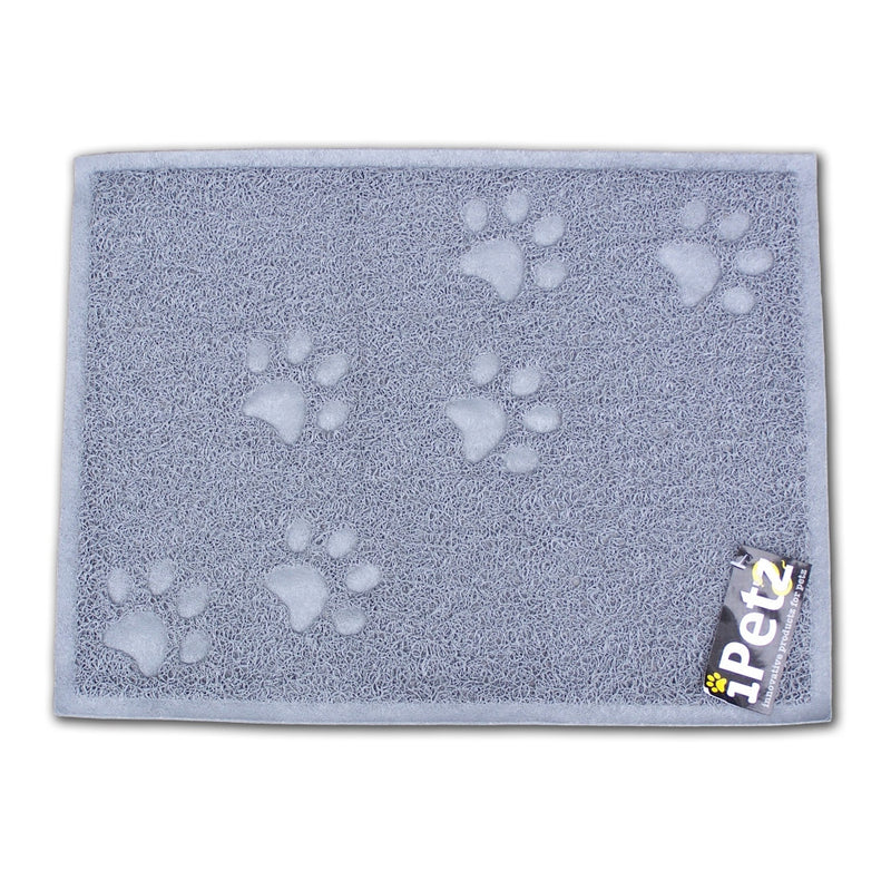 iPetz Anti-Tracking Pet Bowl & Litter Mat