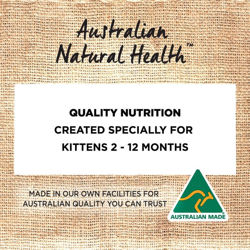 Ivory Coat Chicken with Coconut Oil Dry Kitten Food - 2 to 12 Months.