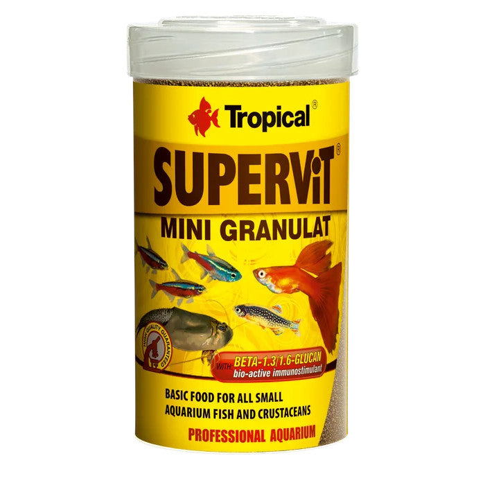 Tropical Supervit Mini Granulat - Fish Food