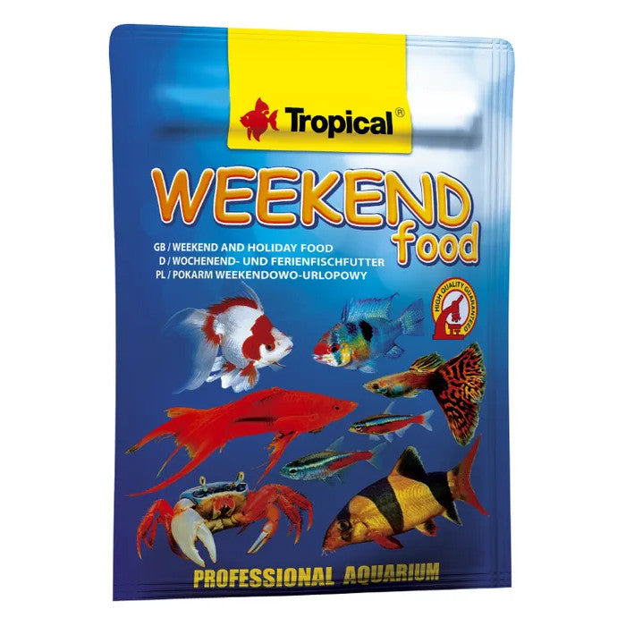 Tropical Weekend Food for Fish