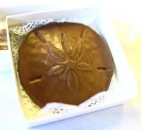 Round Embossed Chocolate