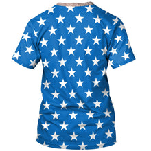 Load image into Gallery viewer, 3D American Flag Printed Short Sleeve T-shirt