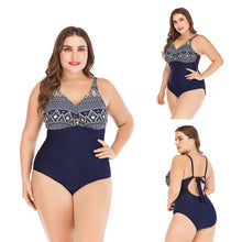 Load image into Gallery viewer, S-5XL One Piece  Print Swimwear