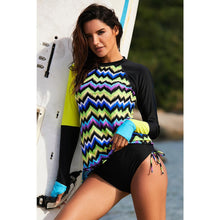 Load image into Gallery viewer, Sexy Long Sleeve Wetsuit and Surfing Swimsuit
