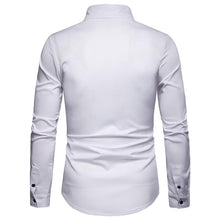 Load image into Gallery viewer, Men's Casual Business Solid Color Long Sleeve Shirt