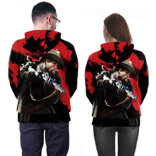 Load image into Gallery viewer, 3D RED DEAD REDEMPTION 2 Printed Long Sleeve Pullover Hoodie Sweatshirt Jacket Coat