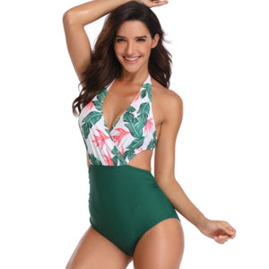 Sexy One Piece Swimsuit Large Size Swimsuit
