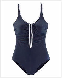 Black One Piece Swimsuit Sporty Swimsuit