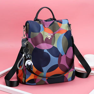 Women Backpack Fashion Anti-theft Waterproof Oxford Multifuction Shoulder Bag