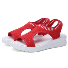 Load image into Gallery viewer, Summer New Platform Breathable Sandal  Shoes Ladies Walking Shoes Beach