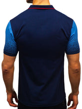 Load image into Gallery viewer, Print Short Sleeve Men's Polo Shirt
