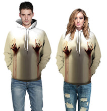 Load image into Gallery viewer, Halloween Pattern Hoodie S-5XL Plus Size Halloween Costumes