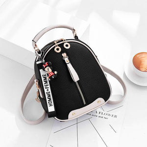 Women Sweet Small Handbag Shoulder Bag Messenger Bag Backpack