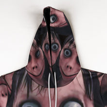 Load image into Gallery viewer, Halloween Momo 3D Digital Print Hoodie Halloween Costumes