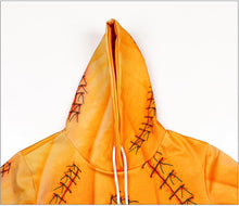 Load image into Gallery viewer, Halloween Funny Pumpkin Skull 3D Print Hoodie Halloween Costumes