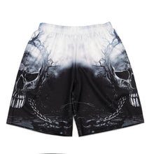 Load image into Gallery viewer, Halloween 3D Digital Print Men's Casual Vacation Shorts
