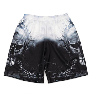 Halloween 3D Digital Print Men's Casual Vacation Shorts