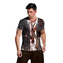 Load image into Gallery viewer, Halloween Horror Zombie 3d Print T-shirt