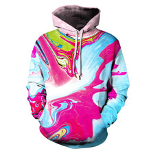 Load image into Gallery viewer, 3d Digital Color Print Long Sleeve Hoodie