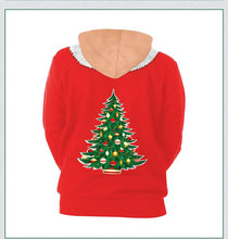 Load image into Gallery viewer, Sexy Xmas Print Ugly Christmas Long Sleeve Hoodie