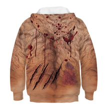 Load image into Gallery viewer, Halloween Cry Night Boys Hoodie Sweater Boys Long Sleeve Hoodies