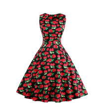 Load image into Gallery viewer, Simple Printed Vintage Dress(10 Styles & S-4XL)