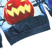 Load image into Gallery viewer, Mens Halloween 3D Pumpkin Printing Hooded Long Sleeve Hoodies