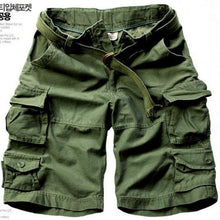 Load image into Gallery viewer, Zipper Fly Camouflage Multi Pockets Shorts