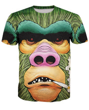Load image into Gallery viewer, 3D Orangutan Print Short Sleeve Men's T-Shirt