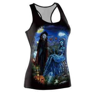 Female Zombie Bride Ball Vest Halloween Costumes