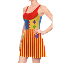 Load image into Gallery viewer, Halloween Cosplay Clown Print Dress
